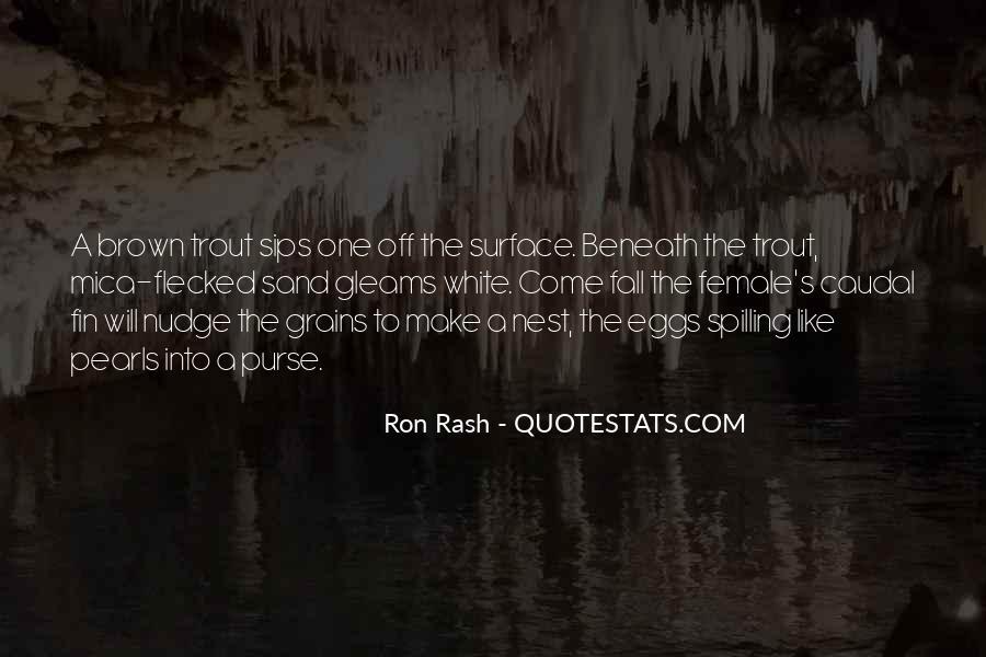 Ron Rash Quotes #79837