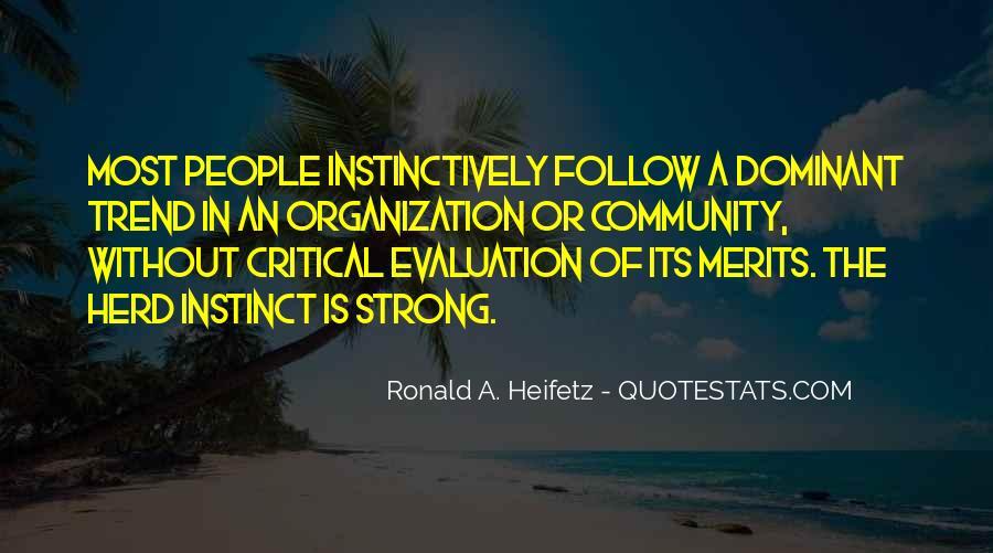 Ronald A. Heifetz Quotes #1241982