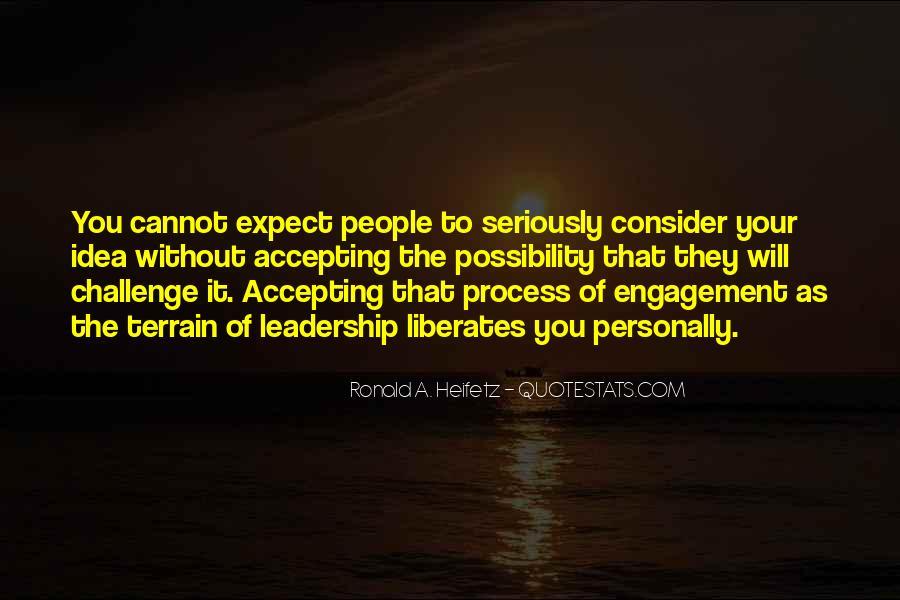 Ronald A. Heifetz Quotes #1334076