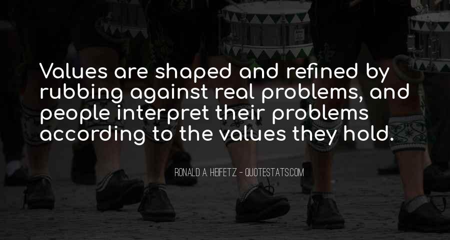 Ronald A. Heifetz Quotes #1456935