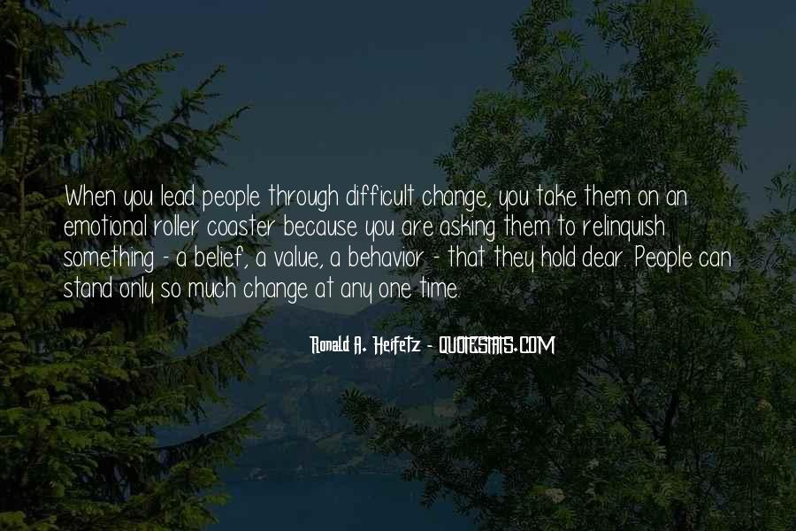 Ronald A. Heifetz Quotes #1596743