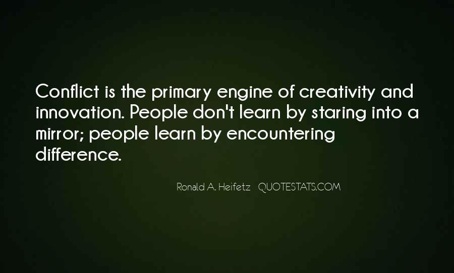 Ronald A. Heifetz Quotes #174077