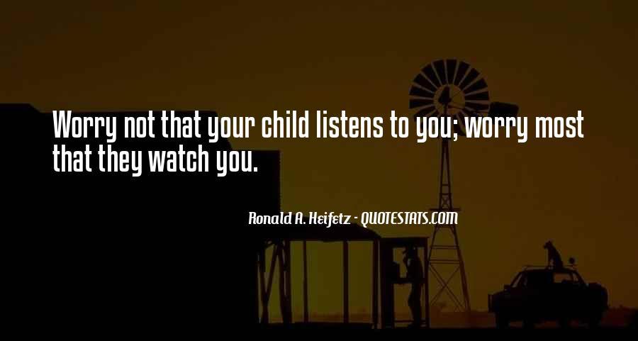 Ronald A. Heifetz Quotes #236039