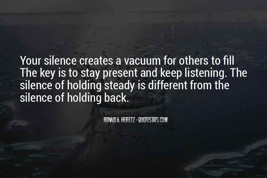 Ronald A. Heifetz Quotes #397409