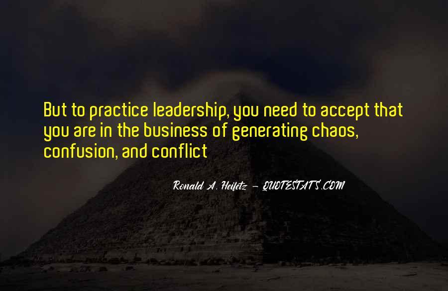 Ronald A. Heifetz Quotes #398280