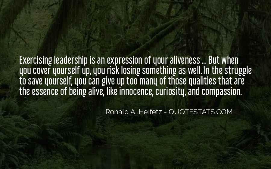 Ronald A. Heifetz Quotes #448247