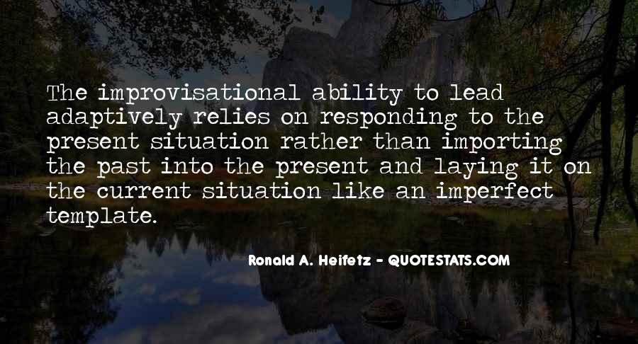 Ronald A. Heifetz Quotes #634531