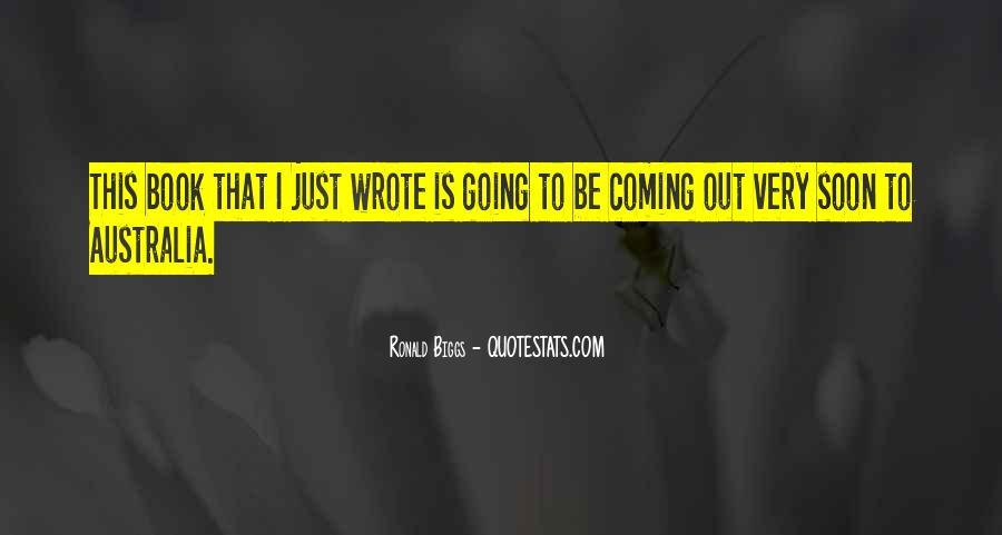 Ronald Biggs Quotes #1165932