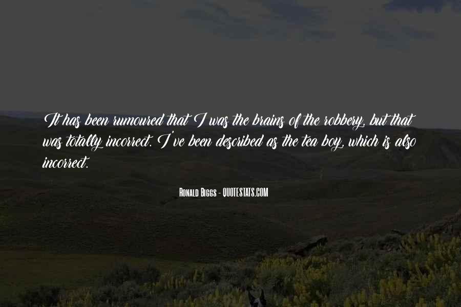 Ronald Biggs Quotes #152565