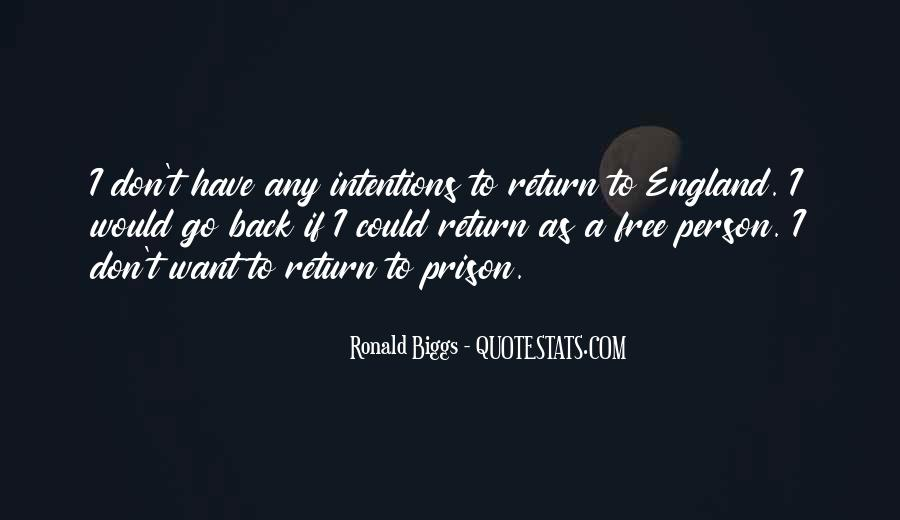 Ronald Biggs Quotes #84907