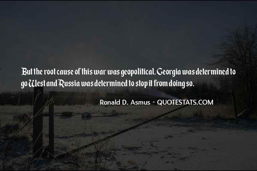 Ronald D. Asmus Quotes #492328