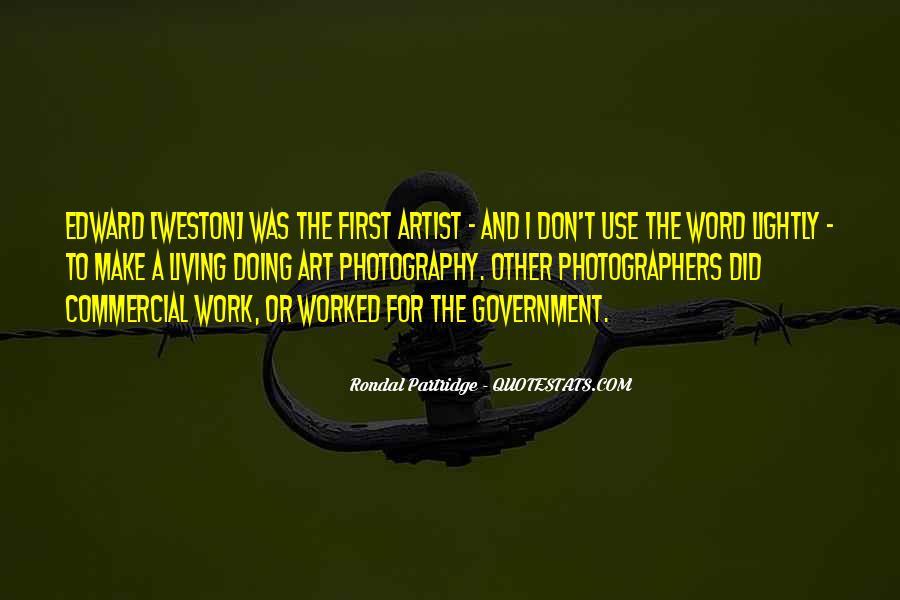 Rondal Partridge Quotes #1719748