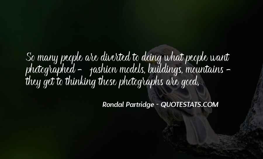 Rondal Partridge Quotes #55035
