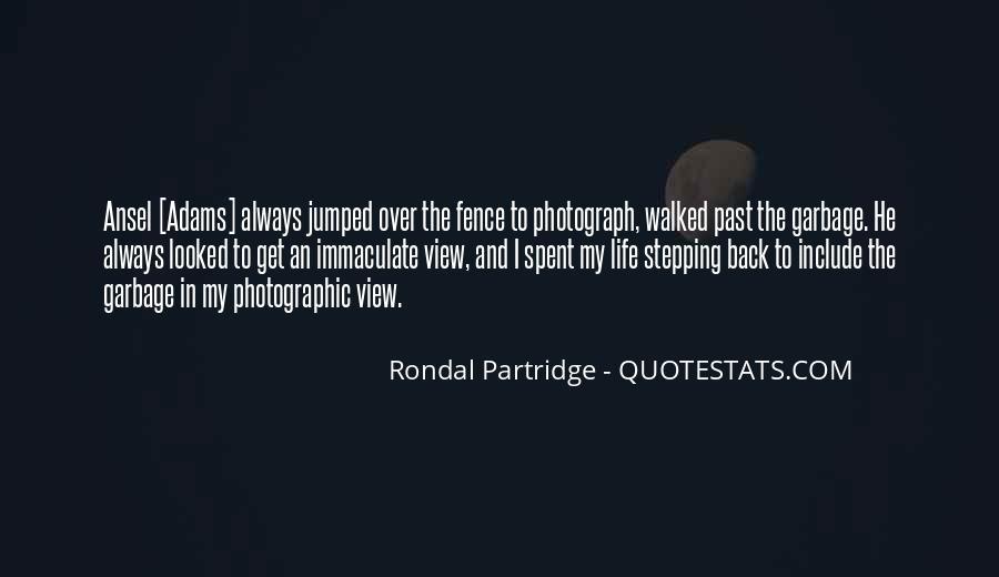 Rondal Partridge Quotes #612287