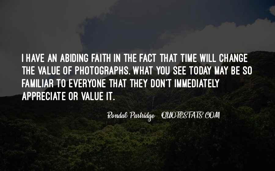 Rondal Partridge Quotes #994637