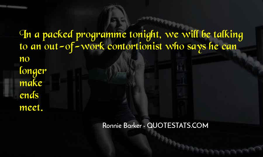 Ronnie Barker Quotes #1263895