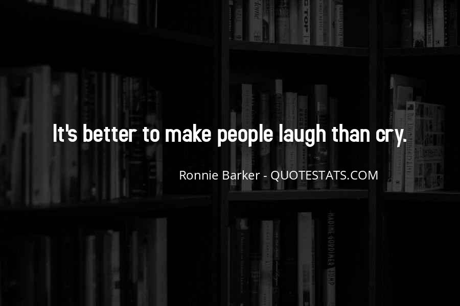 Ronnie Barker Quotes #1540488