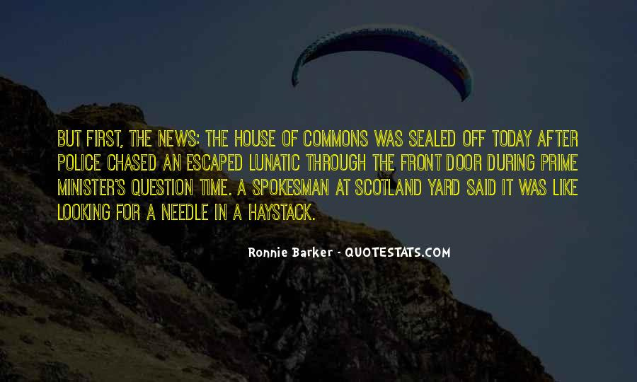 Ronnie Barker Quotes #678511