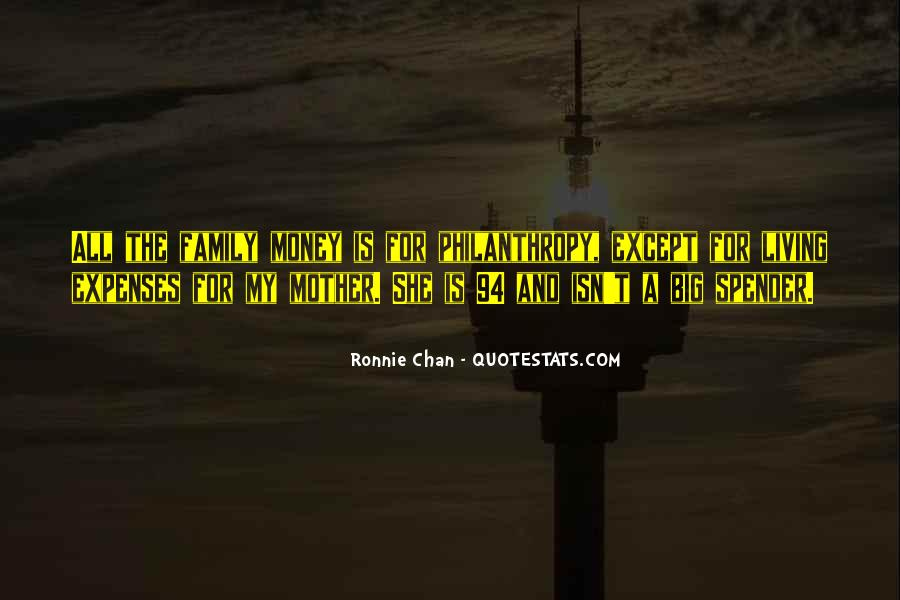 Ronnie Chan Quotes #429750