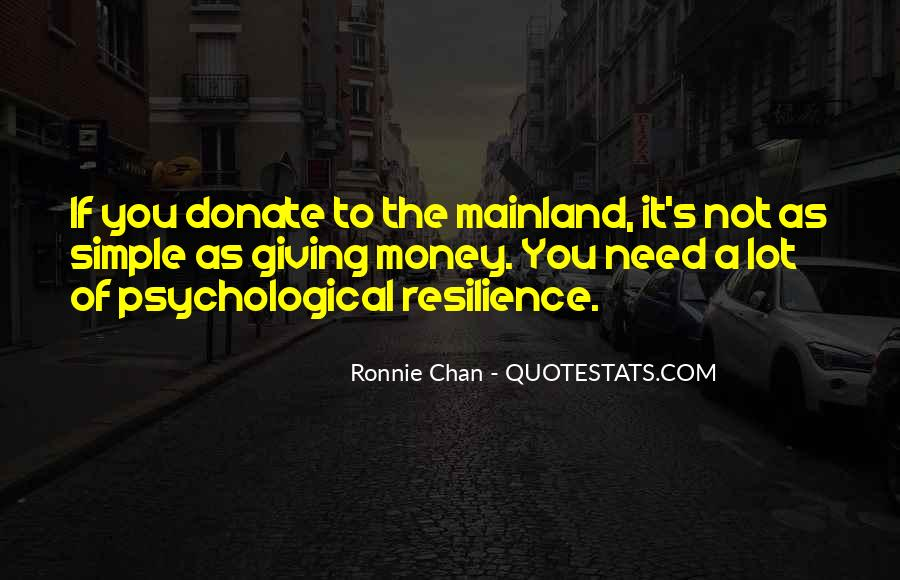 Ronnie Chan Quotes #696212
