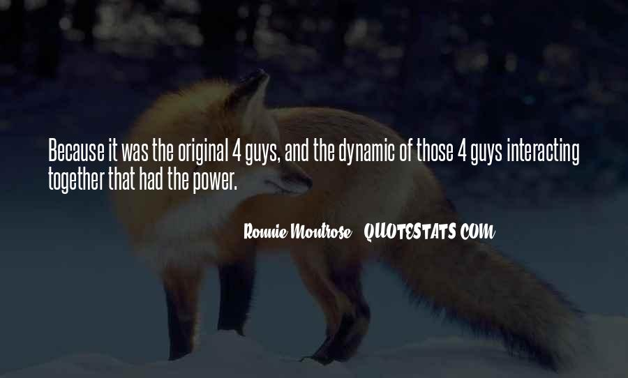 Ronnie Montrose Quotes #1243654