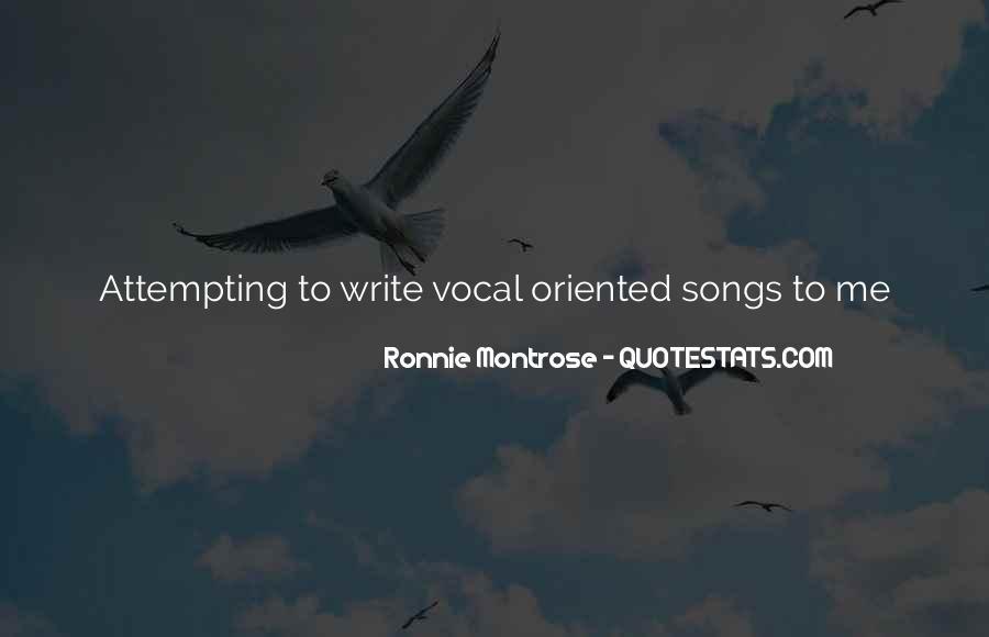 Ronnie Montrose Quotes #1356148