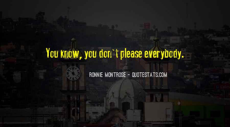 Ronnie Montrose Quotes #1829091
