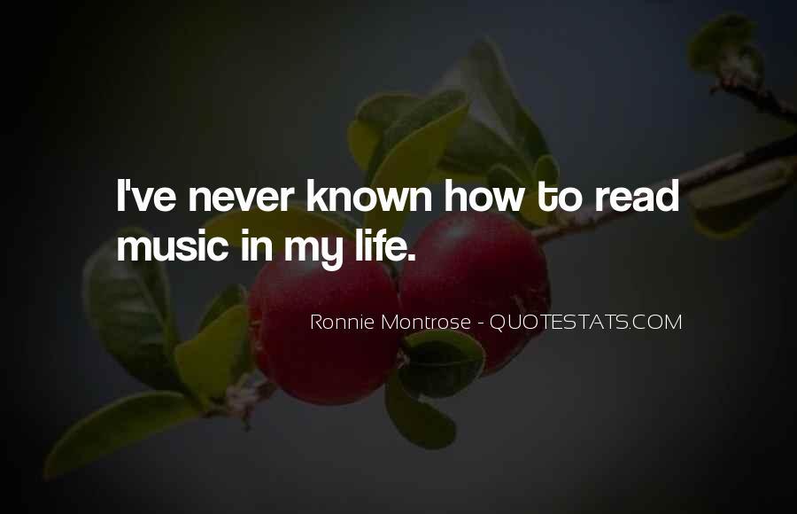 Ronnie Montrose Quotes #615506