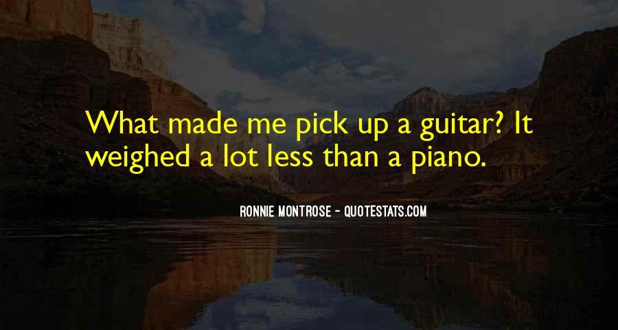 Ronnie Montrose Quotes #853905