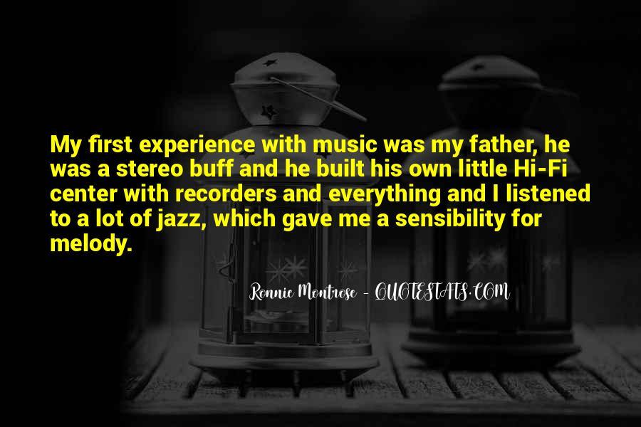 Ronnie Montrose Quotes #903599