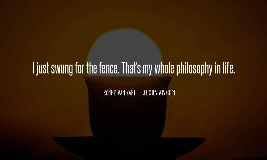 Ronnie Van Zant Quotes #1839395
