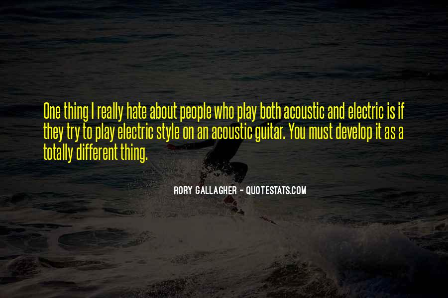 Rory Gallagher Quotes #228857