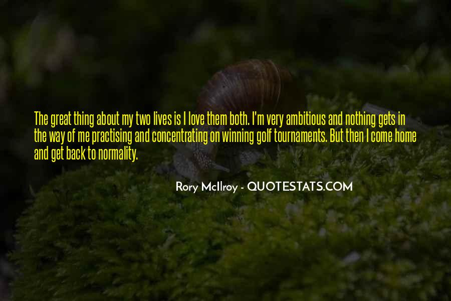 Rory McIlroy Quotes #1012949