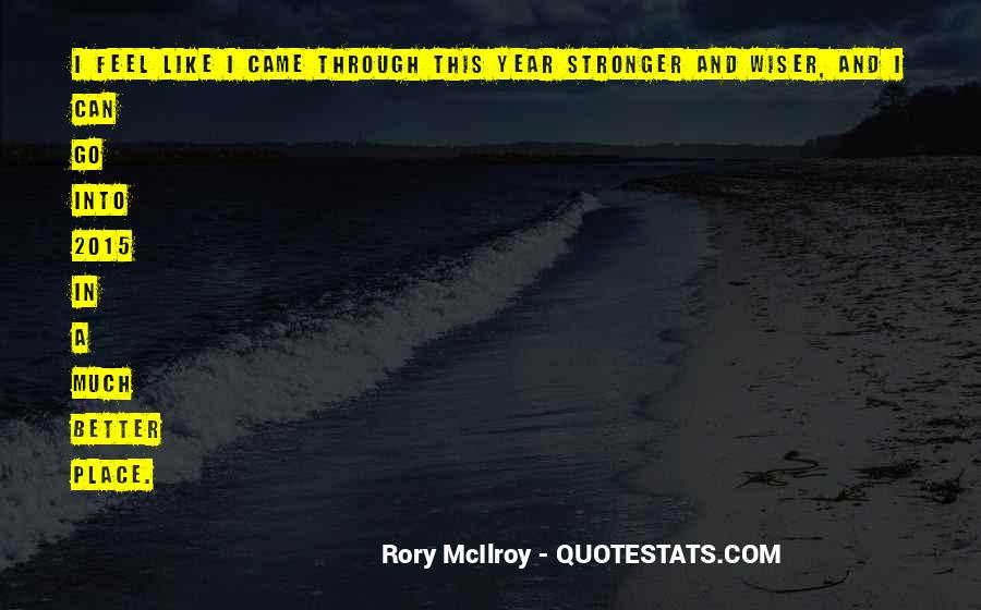 Rory McIlroy Quotes #1025137