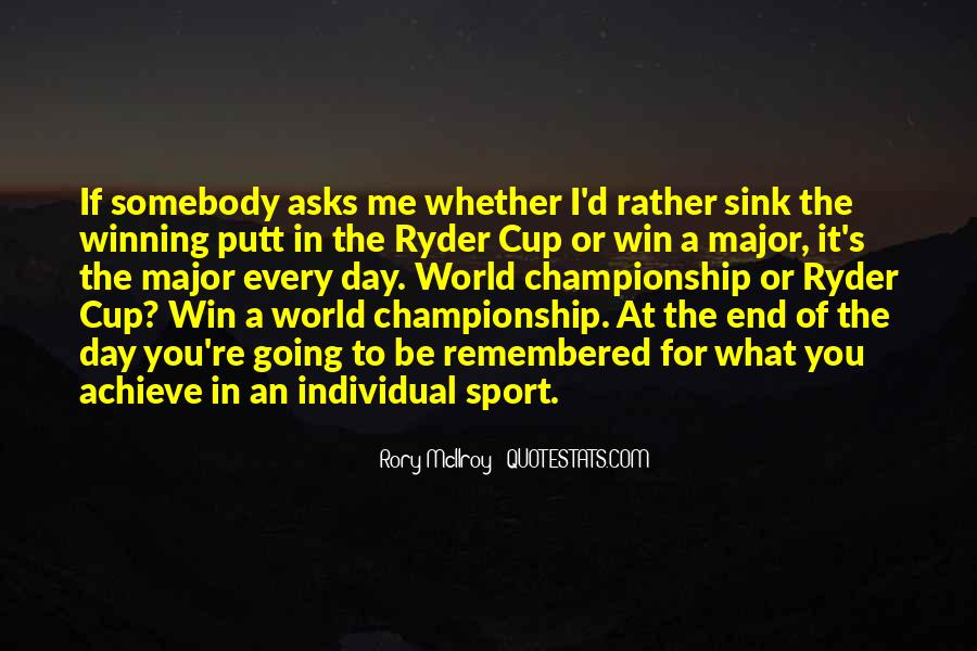 Rory McIlroy Quotes #1194879