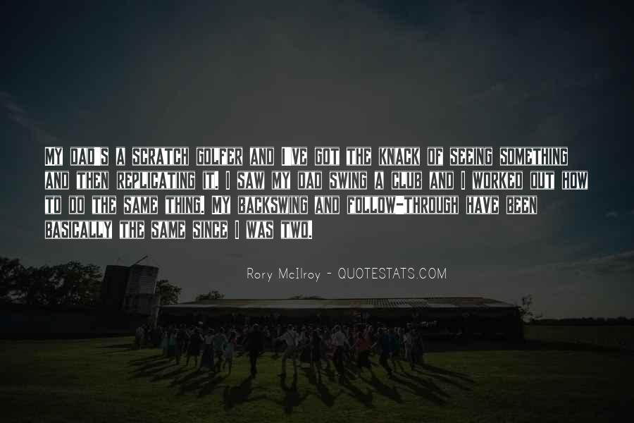 Rory McIlroy Quotes #144398