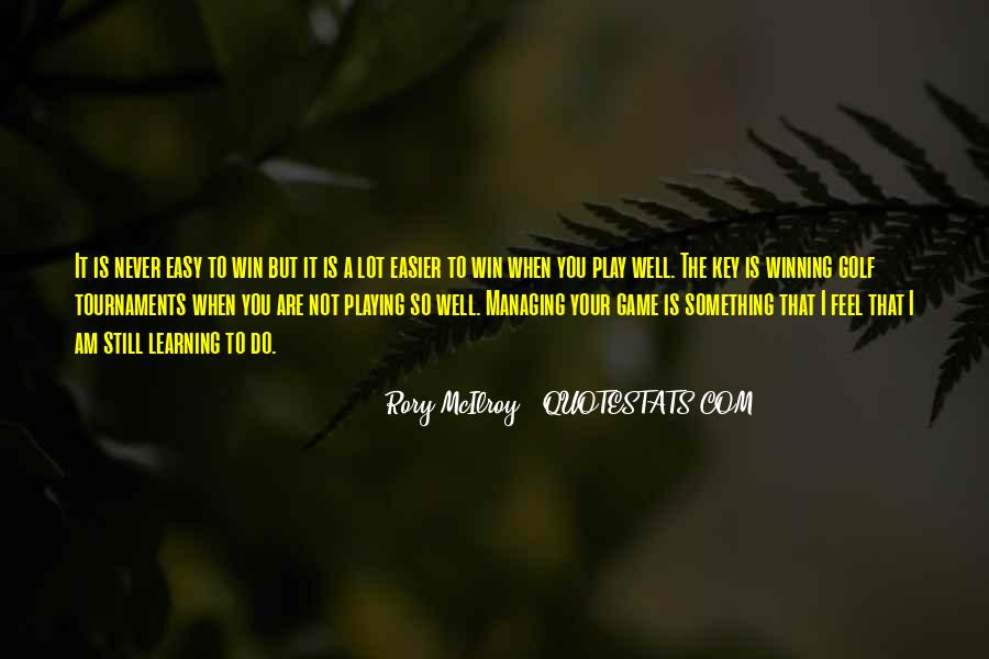 Rory McIlroy Quotes #308207
