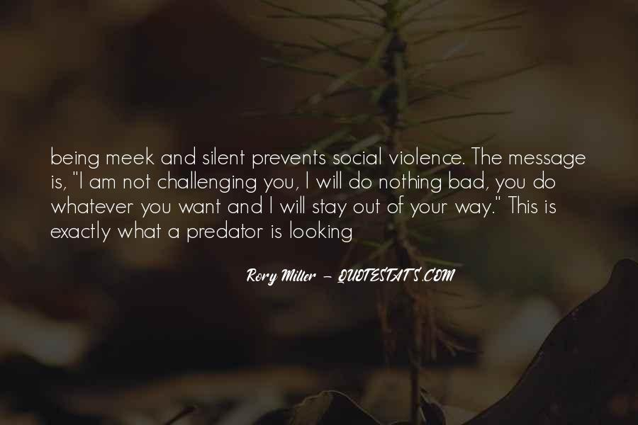 Rory Miller Quotes #10673