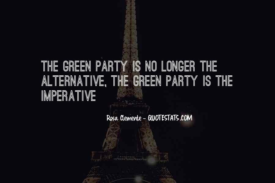 Rosa Clemente Quotes #1584520