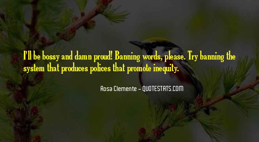Rosa Clemente Quotes #639951