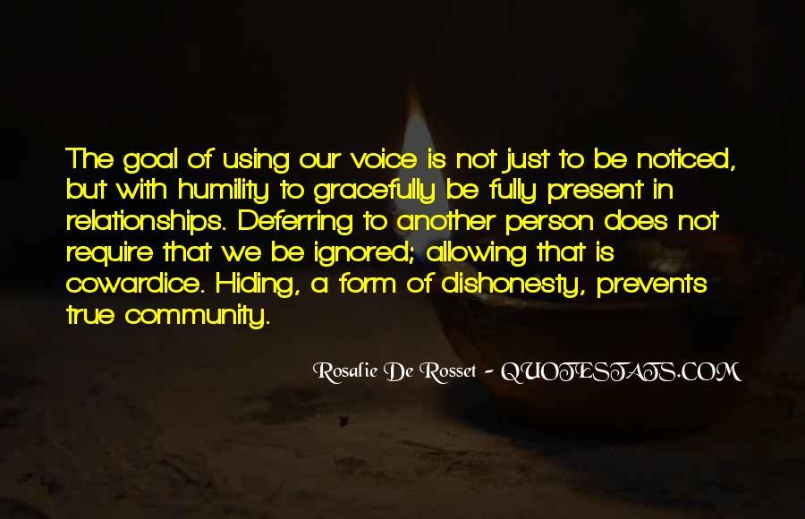 Rosalie De Rosset Quotes #1125126
