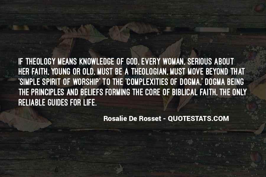 Rosalie De Rosset Quotes #1171939