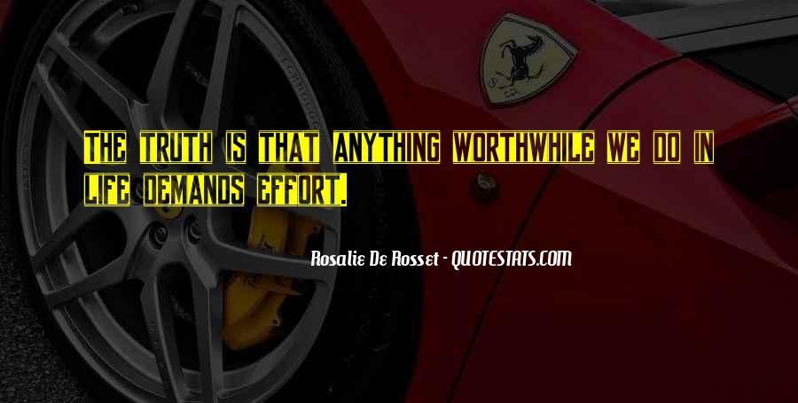 Rosalie De Rosset Quotes #1571748