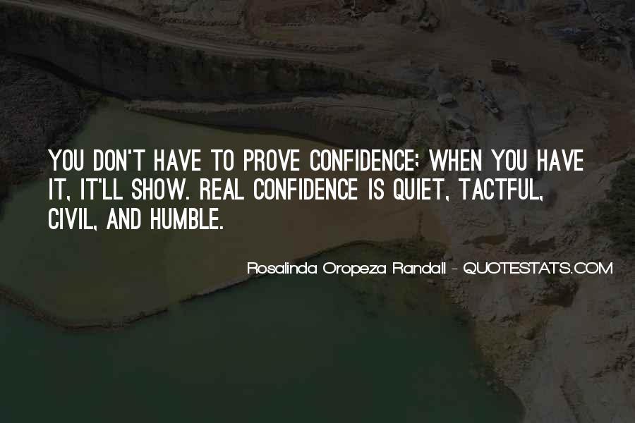 Rosalinda Oropeza Randall Quotes #209005
