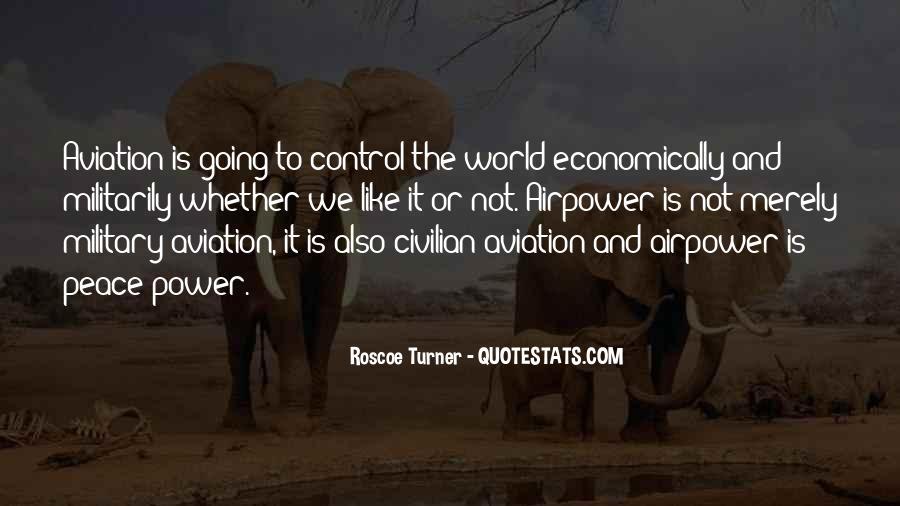 Roscoe Turner Quotes #341766