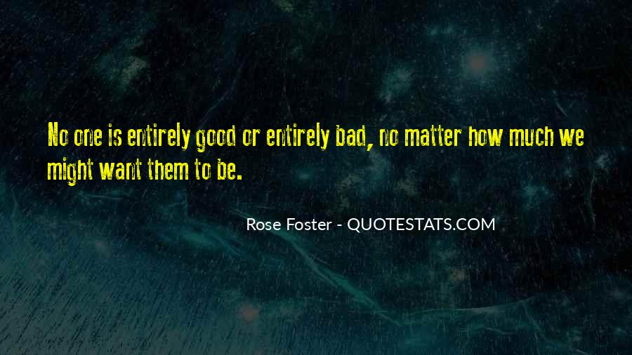 Rose Foster Quotes #1296272