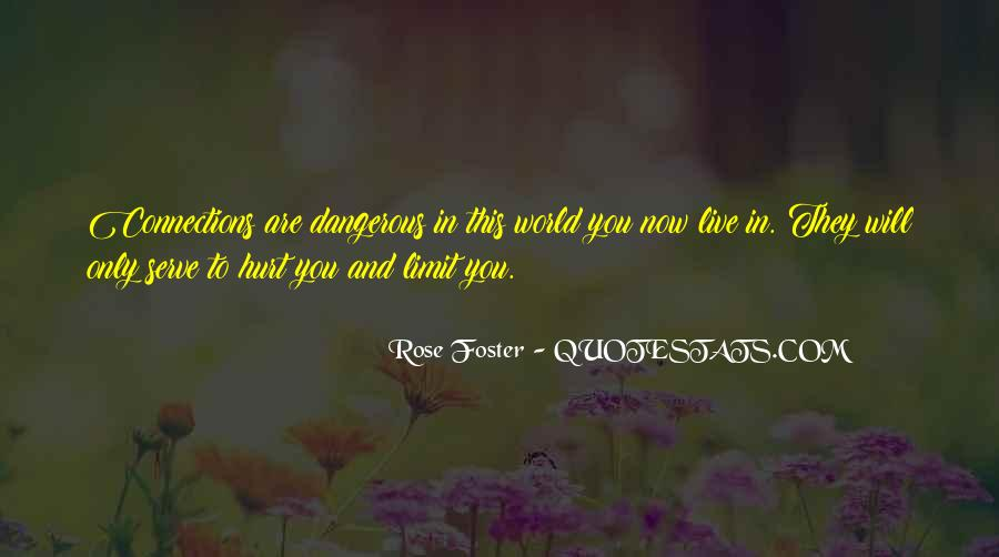 Rose Foster Quotes #155866