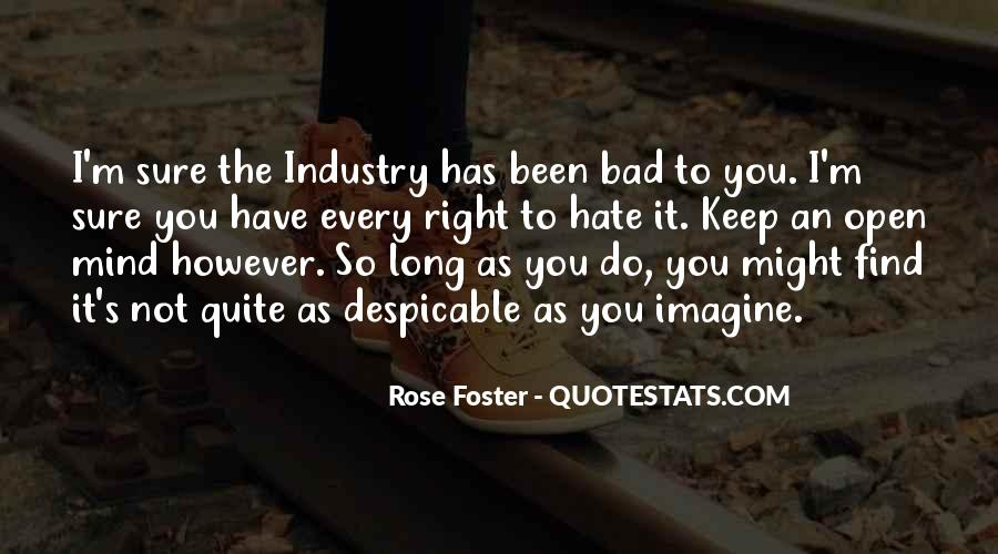 Rose Foster Quotes #49787