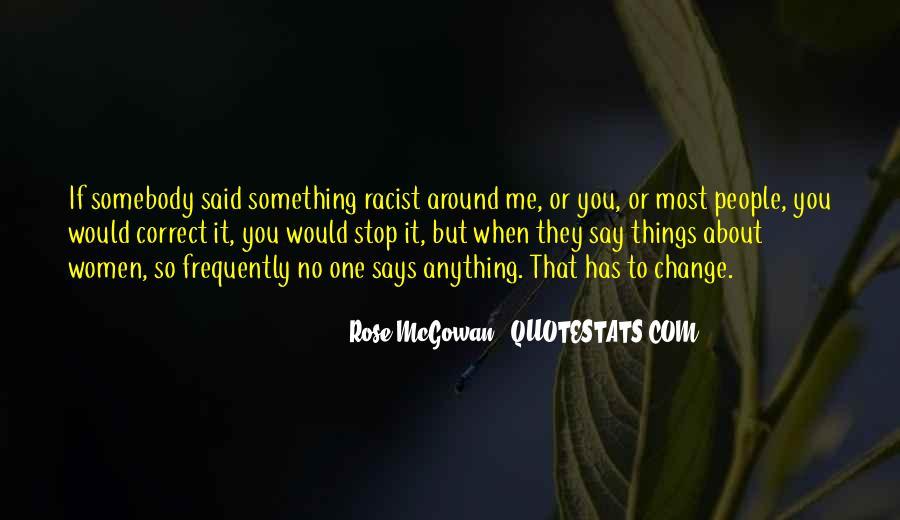 Rose McGowan Quotes #1056286