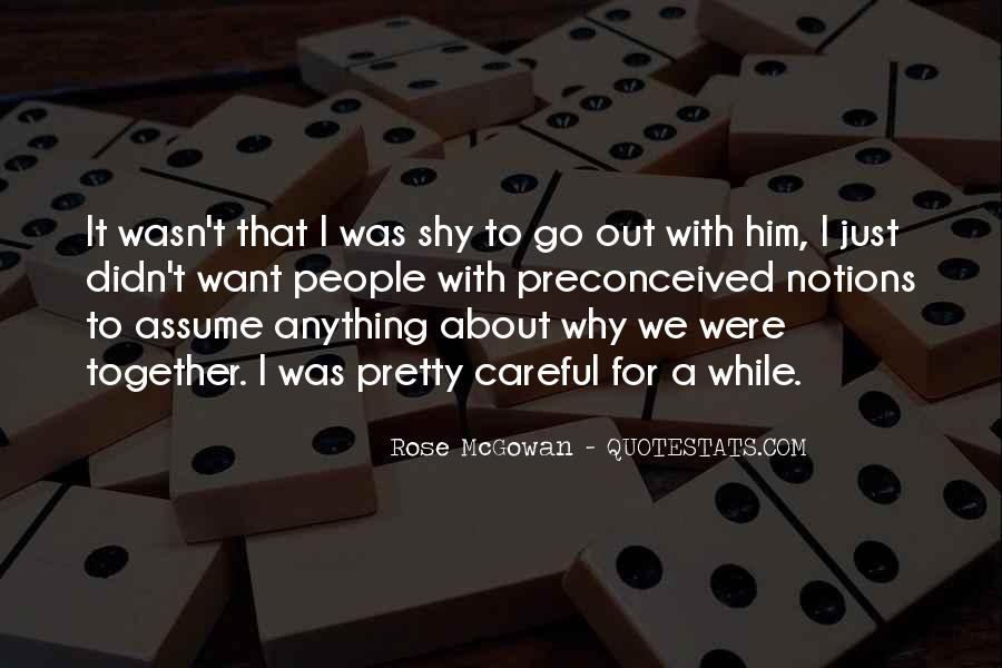 Rose McGowan Quotes #1293565